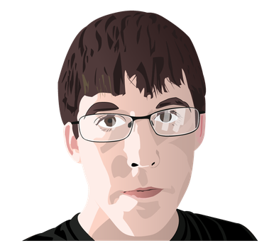 Vector Self Portrait by PapaJohnny