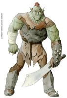 Great-Orc Male color low by LucaErbetta