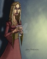 Cersei and Her Wine by Stnk13