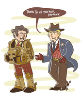 Wild West Avengers by Clazziquai