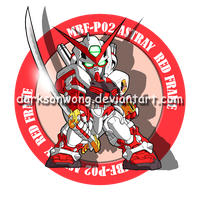 MBF-P02 Astray Red Frame by darksonwong