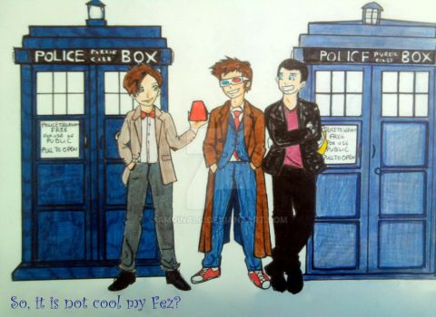 The Doctors are cool by Amrinalc