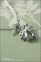 Maple Leaf Chain Necklace by TiaDesigns