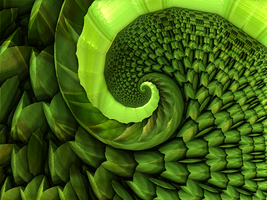 Grass Spiral by 3xternalResourc3