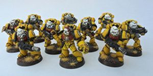 Imperial Fist Sternguard 1 by Ninestar