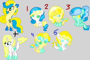 Yellow X Golden Star DTA Adoptables ::CLOSED:: by tiffanykip
