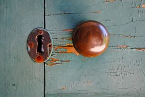 door knob 1 by LucieG-Stock