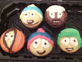 South Park Cupcakes by BlankStare-13