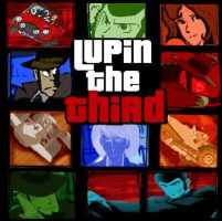 Lupin the Third by GillFigno