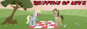 Derpy x Dr. Whooves forum signature by GoneAirbourne