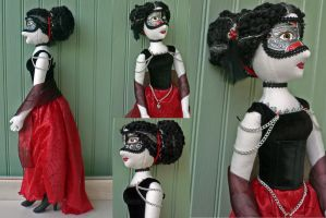 Blackwidow Doll by magpie-poet