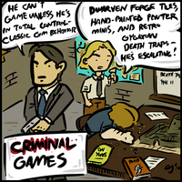COMIX- Criminal Games by WhoDrewThis