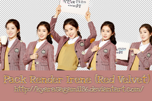 Pack Render/PNG + Stock Irene (Red Velvet) by Kyra by KyaraSagami186