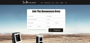 Joe Bonamassa Street Team Join by mvgraphics
