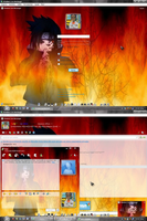 MSN 8.5 Naruto fire by AndyClaro