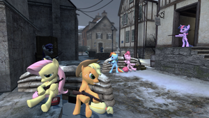 Inglourious Ponies (Gmod) by Immortal-Gamer