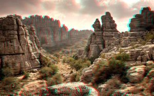 Torcal Natural Park 3-D conversion by MVRamsey