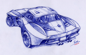 Chevrolet Corvette CanAm by vsdesign69