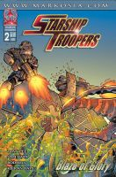 Cover for Starship Troopers 2 by -adam-
