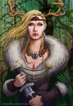 Forest Queen by SeanDonnanArt