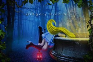 Alice in Wonderland p. one by GregoryNicolas