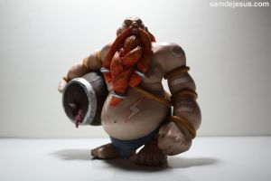 gragas the rabble rouser by samdejesus
