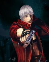 Dante - Devil May Cry 3 by Strawberry--Swing