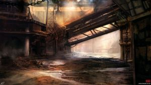 Industrial Decay by kovah