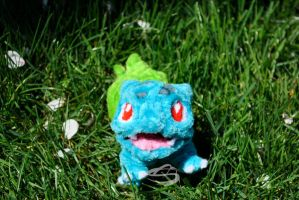 Happy Bulbasaur by Leo-tux