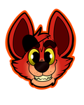 .:Foxy:. Sticker by RaQuEl170898