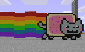 Nyan Cat by Hex-a-Dec
