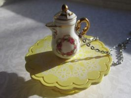Romantic Tea Pot by CandyChick