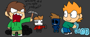 Eddsworld in Minecraft by KittyMelodies