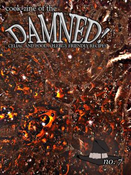 Cook-zine of the Damned Issue 07 Cover by romanysoup