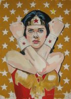 Lynda Carter by Paulstered