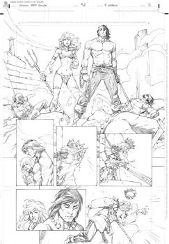 Conan vs Red Sonja page 5 by RandyGreen