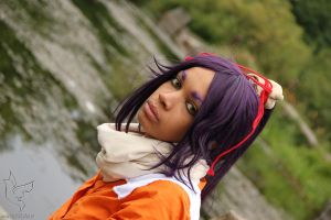 Yoruichi - beautiful lake by xShunShin