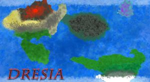 The World of Dresia by efraindragonred
