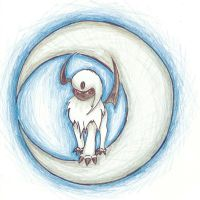 Absol by leopardbreath