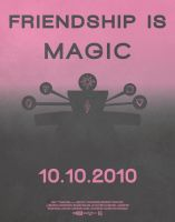 Friendship Is Magic Poster by blingingjak