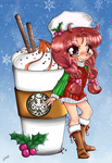 A little Coffee won't hurt~Yampuff's Contest by cutiepiegirl95