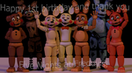 Happy 1st Birthday! (UPDATED) by Fina-Vyd