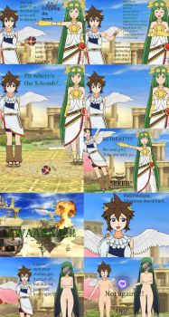 Kid Icarus: Dropping the Bomb by MeisAwsome1
