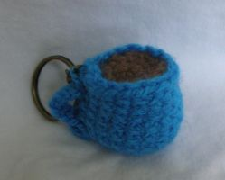 Cup Keychain by CataCata23