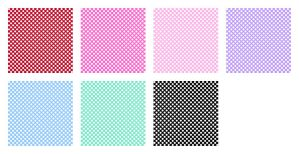 Polka Dot Pattern - Stock by Mezzochan