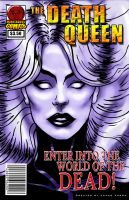 Death Queen Cover test 1 by Zarnoth