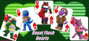 Royal Flush in Hearts by ChessYoshi