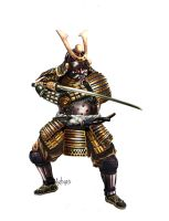 Samurai by Artigas