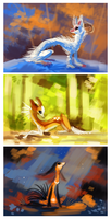 Color practice by griffsnuff