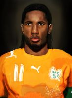 Didier Drogba by Hasuf3ll